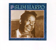 CD  SLIM HARPO  THE BEST OF  EXCELLO ACE   RHINO   RECORDS CDCHM 410 UK  1989 - Blues