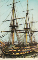 Maritime Postcard HMS Victory Portsmouth Harbour Admiral Nelson Ship Warship - Guerra