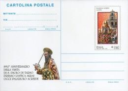 Cartolina Postale C 274 S.paolo Tarso Nuova - Interi Postali