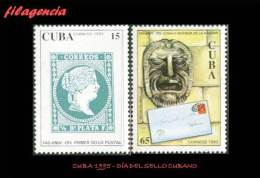 CUBA MINT. 1995-05 DÍA DEL SELLO CUBANO - Cuba