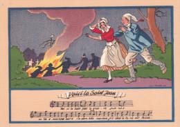 VOICI LA SAINT JEAN/PAROLES AU VERSO (DIL216) - Fairy Tales, Popular Stories & Legends