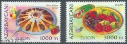 ALIMENTACIÓN - AZERBAIYÁN 2005 - Yvert #523/24 - MNH ** - Alimentación