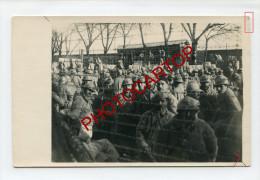 PG-Camp De PRISONNIERS-Barbeles-Non Situee-Carte Photo Allemande-Guerre14-18-1WK-Militaria- - War 1914-18
