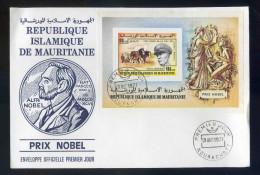 PJM6Bloc  17  - Prix Nobel De La Paix   -Georges Marschal - - Mauritanië (1960-...)