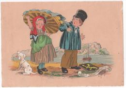 MAUDY . E  ( Les Petits Métiers) La Petit  Marchande De Beurre - Autres Illustrateurs