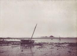 35 Dinard - Ile Cézembre - Photo Noir Et Blanc - 23 Cm X 17 Cm - Plaatsen