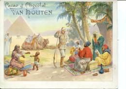 VAN HOUTEN Camp De Nomades Accompagné D´un Militaire - Van Houten