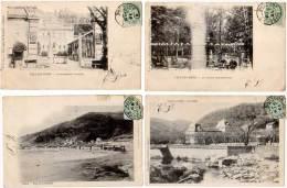 6 Cpa Vals Les Bains, Casino, Volane, Château, ... - Vals Les Bains