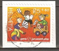 Zu J 374A PRO JUVENTUTE 2004 Obl. Centrale COTTENS 31.5.06 SBK 4,- - Pro Juventute
