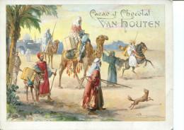 VAN HOUTEN Camp De Nomades Avec Chameaux Et Cavalier - Van Houten