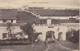 CPA Animée - RABAT (Maroc) - Le Camp Garnier - 1924 - Rabat
