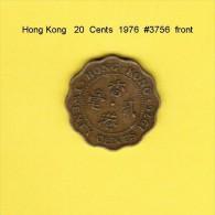 HONG KONG    20  CENTS  1976  (KM # 36) - Hong Kong