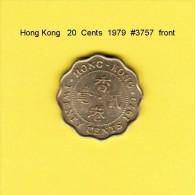 HONG KONG    20  CENTS  1979  (KM # 36) - Hong Kong