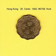 HONG KONG    20  CENTS  1982  (KM # 36) - Hong Kong