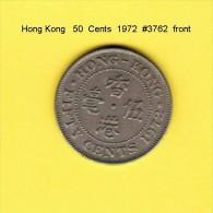 HONG KONG    50  CENTS  1972  (KM # 34) - Hong Kong