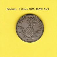 BAHAMAS    5  CENTS  1975  (KM # 60) - Bahamas