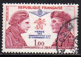 FRANCE : N° 1773 Oblitéré (Pierre Bourgoin Et Philippe Kieffer) - - France
