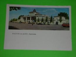 Russia,SSSR,Rostov-na-Donu,airport,aerodrome,flughafen,airplanes Port,postcard - Aerodrome