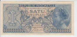 Indonesia 1 Rupian 1956 Pick 74 UNC - Indonesië