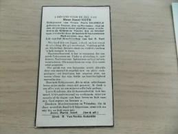Doodsprentje Jozef Note Veurne 29/11/1895 - 26/10/1940 (Maria Degheele) - Religión & Esoterismo