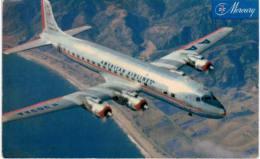 Thème -  Avion -  American Airlines DC 7 Flagship - Format 8.5*13.5 Cm - 1946-....: Moderne
