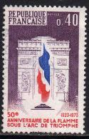 FRANCE : N° 1777 Oblitéré (50ème Anniversaire De La Flamme De L´Arc De Triomphe) - PRIX FIXE - - France