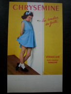- Pub - Publicité Papier - Médicaments - Chrysémine - 1965 - Laboratoire Carteret - Boulogne Sur Seine - - Advertising