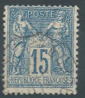 Lot N°24378   N°90, Oblit Cachet à Date Des Ambulants A Déchiffrer - 1876-1898 Sage (Type II)