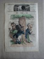 L'eclipse N°157 Oct 1871 Napoléon Par Gill, Article Contre La Corse. Voir Photos . - 1850 - 1899