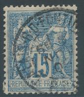 Lot N°24381   N°101, Oblit Cachet à Date A Déchiffrer - 1876-1898 Sage (Type II)
