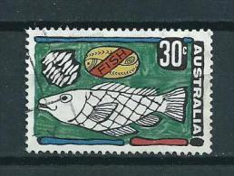 1972 Australia 30 Cent Fish,vissen,poisson Used/gebruikt/oblitere - 1966-79 Elizabeth II