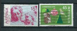 1976 Australia Complete Set Christmas,kerst,weihnachten,noël Used/gebruikt/oblitere - 1966-79 Elizabeth II