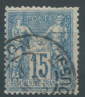 Lot N°24388   N°101, Oblit Cachet à Date A Déchiffrer - 1876-1898 Sage (Type II)