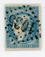 N°44 A    Emission De Bordeaux - Garanti Authentique Mais Réparé (Invisible)  -  Côte 700 Euros - 1870 Bordeaux Printing