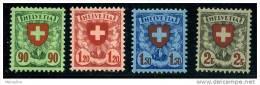 SUISSE  1924 Ecusson Zum 163-6*  Charnières Très Légères - Suisse