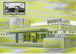 DDR 1988 Post Office Buildings Set Of 3 Official Maximum Cards.  Michel 3145-47 - [6] Democratic Republic