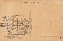 España--Huesca--1960--Sallent De Gallego Y Pico Foratata---Posterior --Plano Situacion - Mapas