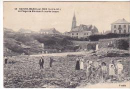 22296 SAINTE MARIE DE LA MER La Plage De MOMBAU à Marée Basse -29 Chapeau 3iem Mille - France