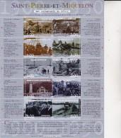 ST PIERRE ET MIQUELON BLOC FEUILLET N° 8 NEUF  2000 -  COTE : 24 €