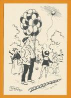 Le Marchand De Ballons  -  Illustration Pierdec - Other