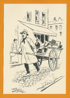 Le Chiffonnier  -  Illustration Pierdec - Other
