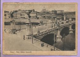 ITALIE -  ROMA  -  Ponte Vittorio Emanuele - Ponts
