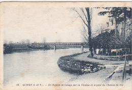 22300 MESSAC GUIPRY Le Chemin De Halage Sur La Vilaine Et Le Pont Du Chemin De Fer -39 Artaud -