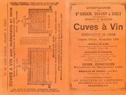 Compagnie Saint Gobain Chaunu & Cirey - Cuves à Vin Revêtement En Verre - Reclame