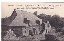 "22306 Environs FOUGERES. Ferme Gibary. BALZAC ""Les Chouans"" Aubrée -coll Syndicat Initiative Cliché EA 339 - Fougeres"