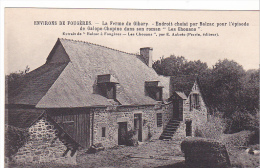 "22306 Environs FOUGERES. Ferme Gibary. BALZAC ""Les Chouans"" Aubrée -coll Syndicat Initiative Cliché EA 339"