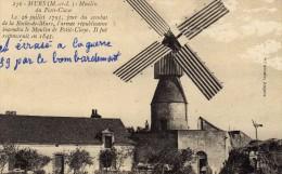Mûrs Erigné / Les Ponts De Cé ...moulin Du Petit Claye écrasé à La Guerre 39 /40 Pau Un Bombardement - Autres Communes