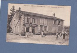 CPA  - 52 -  VAUX Sur AUBIGNY  - Café Restaurant De La Gare - Autres Communes