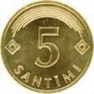 LATVIA - 2007 Year-5 Sant - UNC - Letland