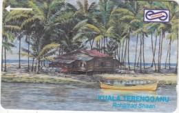 MALAYSIA(GPT) -  Painting, Kuala Trengganu, CN : 51MSAA/B, Tirage 40000, Used - Malaysia